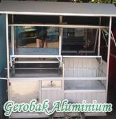 Gerobak Aluminium