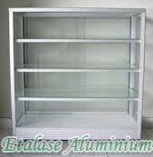 Etalase Aluminium